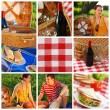 Picnic collage - 