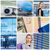 Travel collage — Stock Photo
