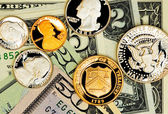 American currency — Stock Photo