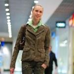 Girl shopping in mall — Stock Photo #1595288