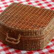 Picnic basket — Stock Photo #1595845