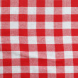 Classic picnic cloth — Stock Photo