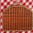 Picnic basket — Stock Photo #1595861