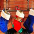 Christmas stockings — Stock Photo #1595982