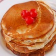Stack of pancakes — Foto de Stock