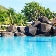 piscina tropical — Foto Stock #1624294