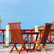 Beach patio — Stock Photo