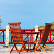 Stock Photo: Beach patio