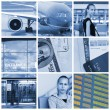 Travel collage - Stock Photo