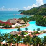 Tropical pool — Stock Photo