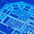 Blueprint — Stock Photo #1657680