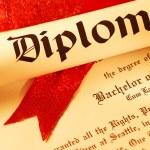 Diploma — Stock Photo #1657975