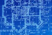 Blueprint — Stock Photo