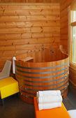 Sauna inneneinrichtungen — Stockfoto