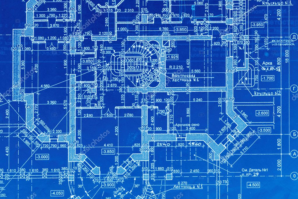 Blueprint stock photo haveseen 1692651