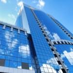 moderna kontorsbyggnaden — Stockfoto