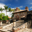 Stock Photo: Colonial town