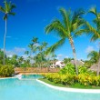 Tropical swimming pool — Stockfoto