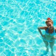 Stock Photo: Girl in swimming pool