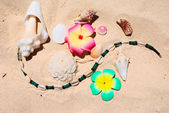 Beach still-life — Stock Photo