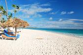 Карибский пляж — Стоковое фото