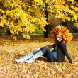 Autumn girl — Stock Photo #1799142