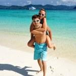 Couple on a beach — Stock Photo #1815278