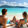 Couple on a beach — Stock Photo #1815309