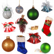 Christmas collection - Stock Photo