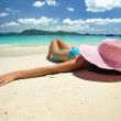 Relax on a beach — Stock Photo #2123915