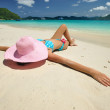 Relax on a beach — Stock Photo #2123932