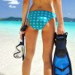 Going snorkeling — Stock Photo #2124041