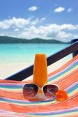 Crema solare — Foto Stock