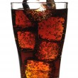 Stock Photo: Glass with cola