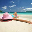 Relax on a beach — Stock Photo #2422760