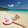 Relax on a beach — Stock Photo #2422794