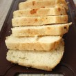 Cut white bread — Stock Photo #1232002