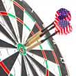 Royalty-Free Stock Photo: American darts