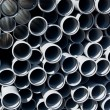 Stacked PVC pipes — Stock Photo #1202002