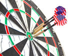 American darts — Stock Photo