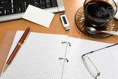 Office masaüstü — Stok fotoğraf