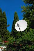 Parabolic antenna — Stock Photo