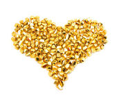 Particles forming a heart — Stock Photo