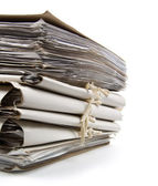 Pile of paperwork — Stockfoto
