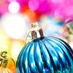 Renkli Noel dekorasyon — Stok fotoğraf