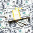 Background with many americdollars — Stock Photo #1244250