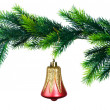 Royalty-Free Stock Photo: Christmas decoration isolated