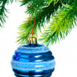 Christmas decoration on  the tree — Lizenzfreies Foto