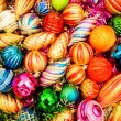 Colourful christmas decoration — Stockfoto