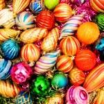 decoração de Natal coloridos — Foto Stock